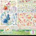 Microcosmos Double-Sided Patterns Pad 30.5*30.5cm  8/Pkg