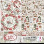Frozen Roses Double-Sided Patterns Pad 12