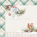 This Christmas 02 - Double-sided scrapbooking paper - Lemoncraft