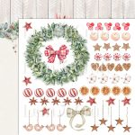 This Christmas 04 - Double-sided scrapbooking paper - Lemoncraft