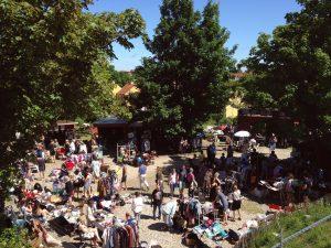 Hyggeligt loppemarked i Københavnstrup