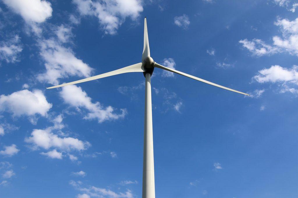 Eco power, wind power plant
