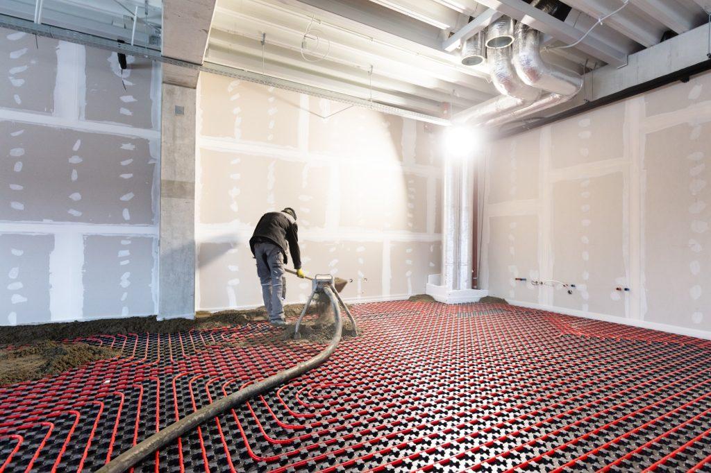 Montering af el-gulvvarme