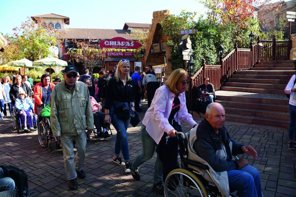 Ausflug mit Senioren