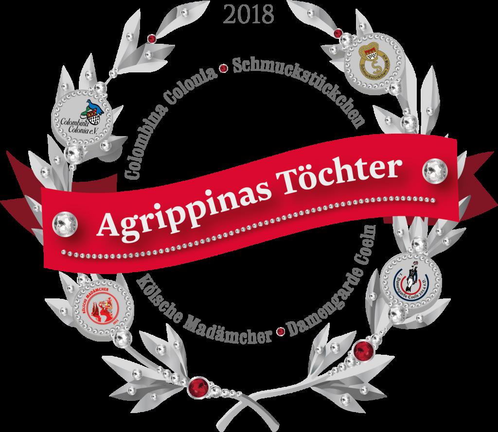 Das Logo der Agrippinas Töchter