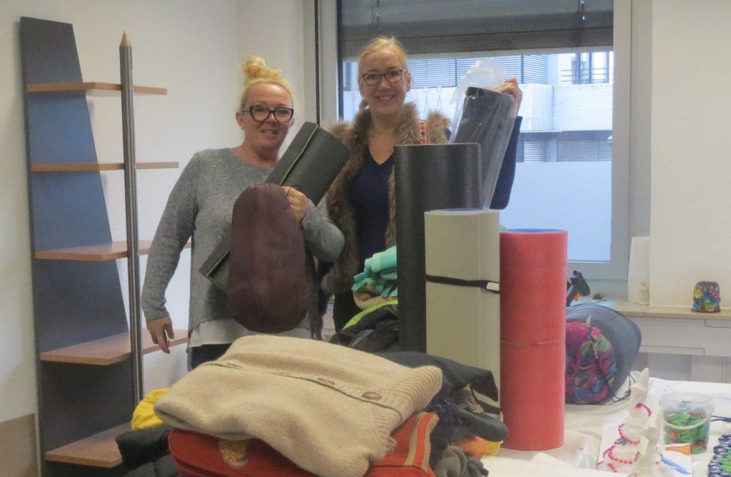 Sammlung von Kleidern für Obdachlose