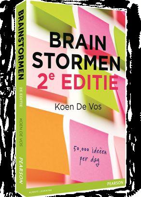 Cover boek Brainstormen van Koen De Vos