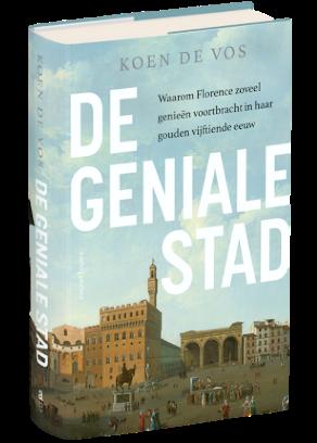 Cover boek over Florence: De geniale stad