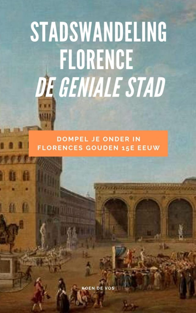 Stadswandeling Florence geïnspireerd op het boek De Geniale stad.