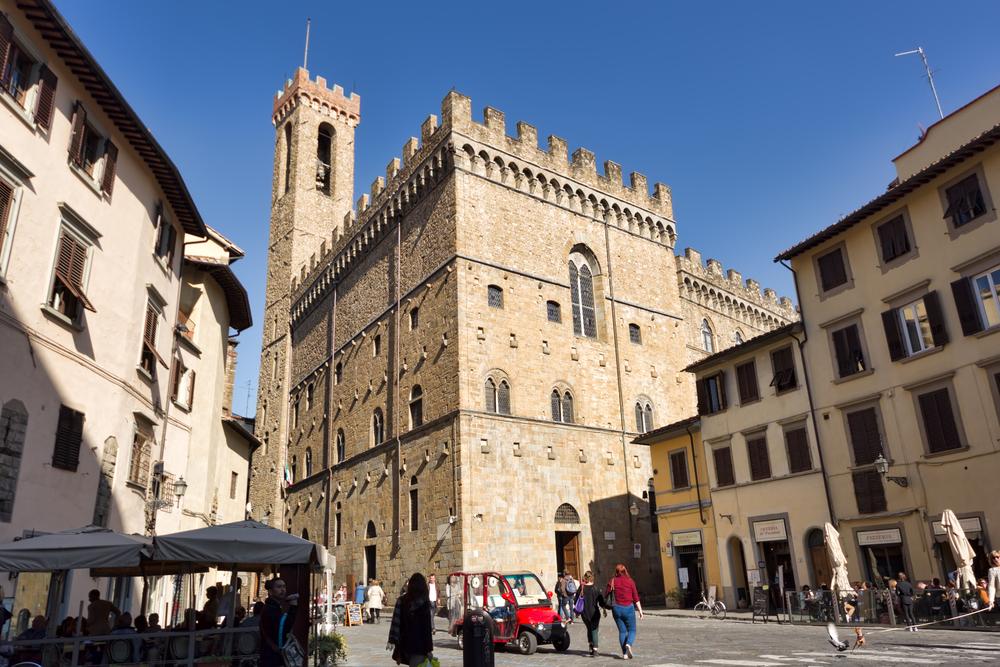 Bargello Florence buitenkant