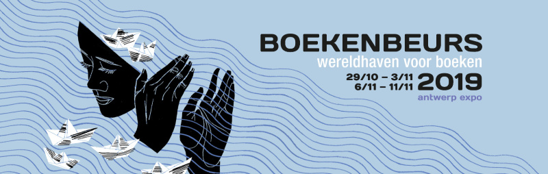 Koen De Vos, auteur van De geniale stad op de boekenbeurs 2019