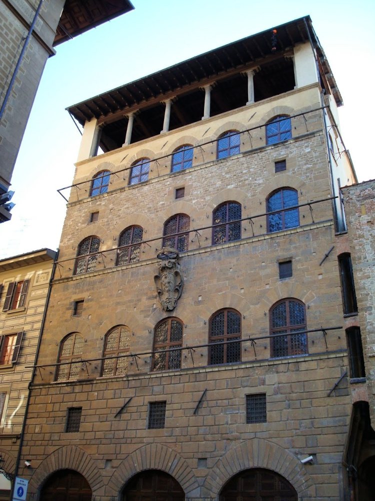 Vooraanzicht Palazzo Davanzati, Florence