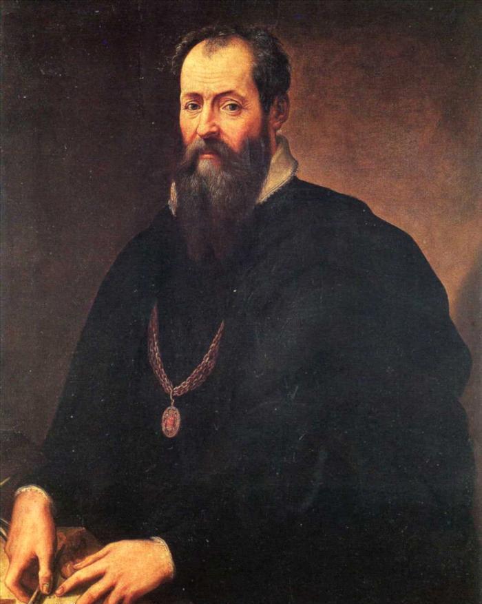 Zelfportret van Giorgio Vasari
