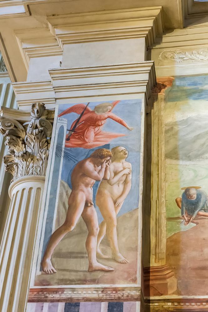 Masaccio, Verdrijving uit het paradijs in de Brancacci-kapel