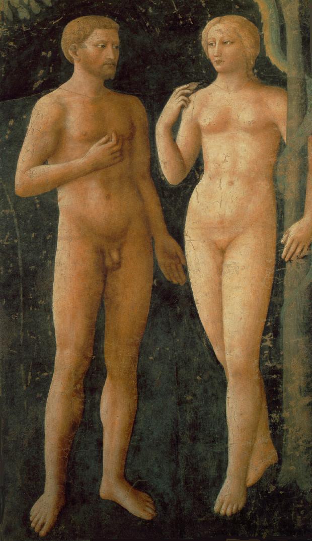 Masolino, De zondeval in de Brancacci-kapel