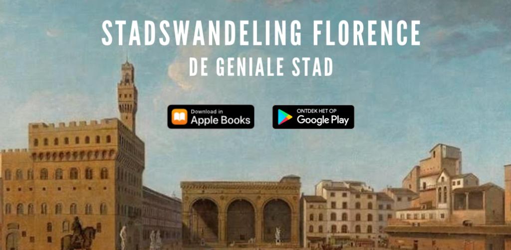 Stadswandeling Florence nu ook beschikbaar voor je smartphone.