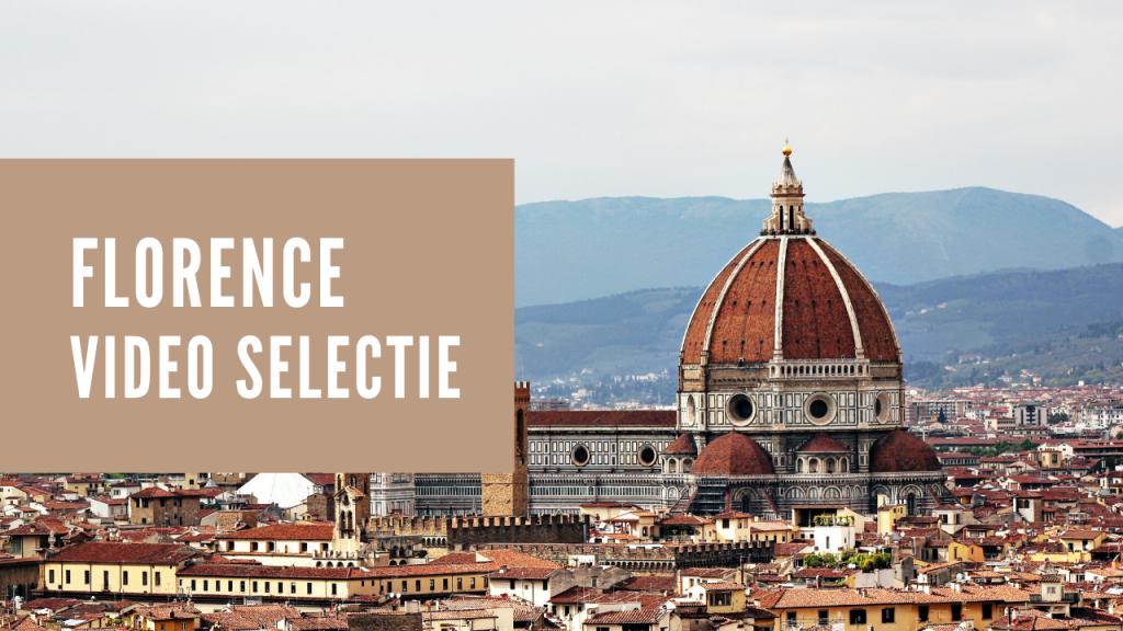Florence video selectie beeld van de Duomo van Firenze