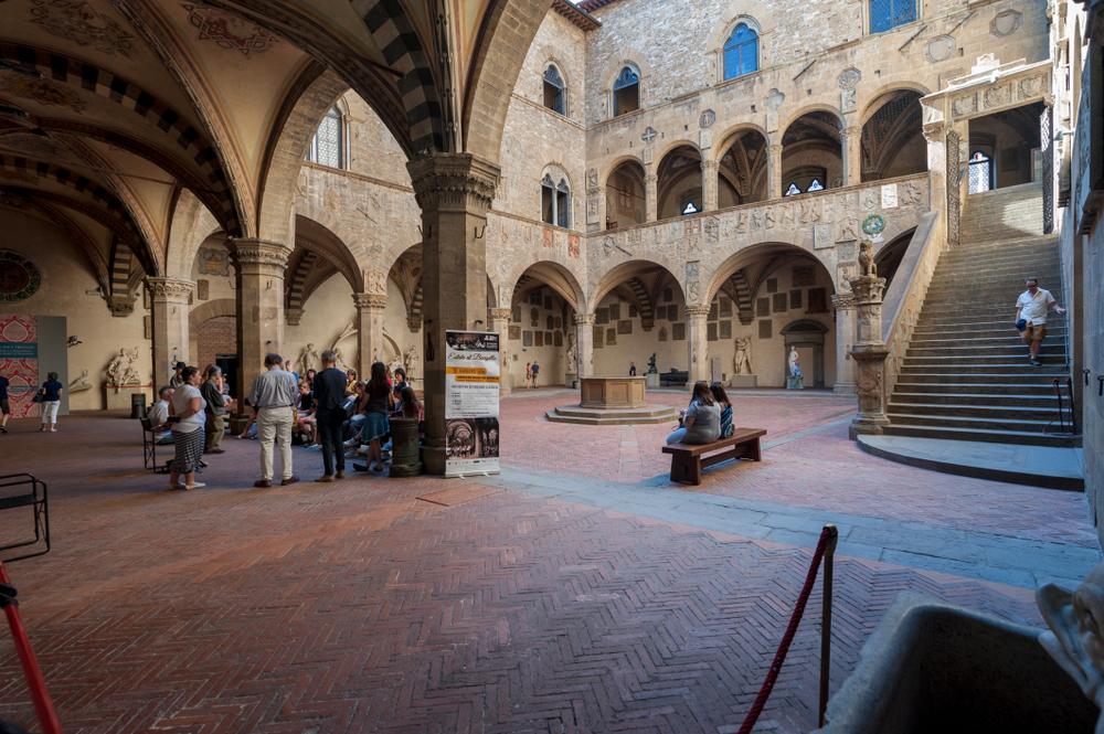 Courtyard Bargello, Florence