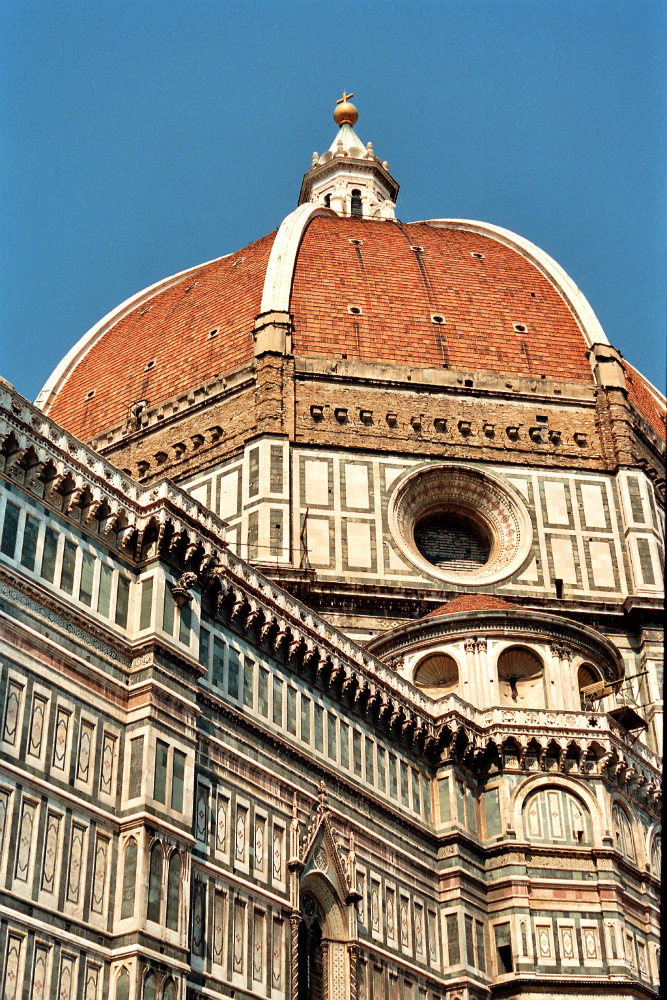 View of Brunelleschi's Dome of Florence Cathedral