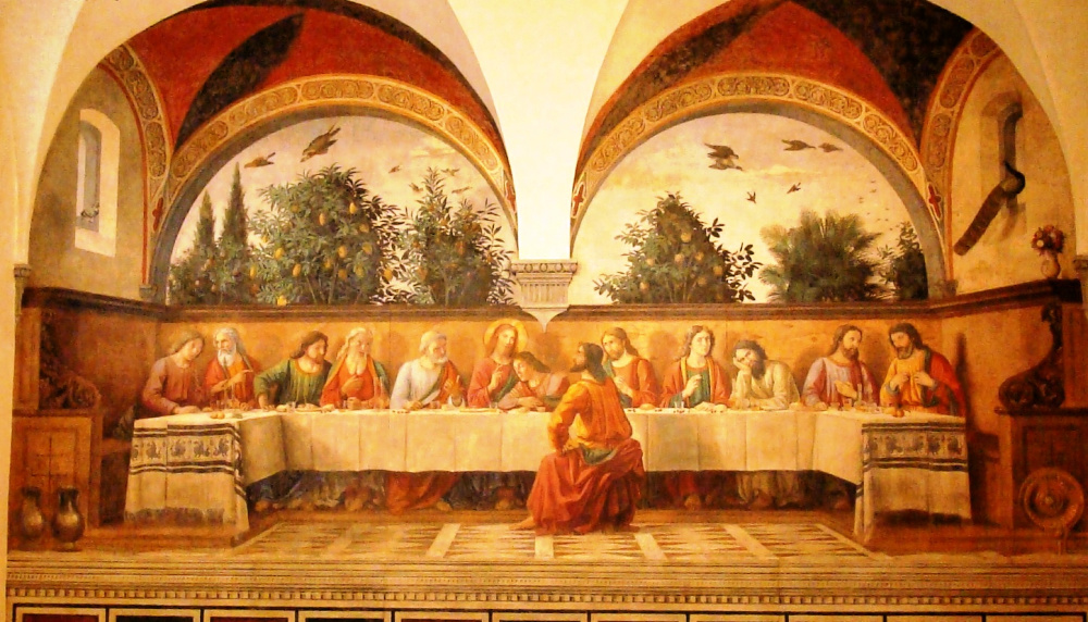 Domenico Ghirlandaio, The Last Supper in refectory Ognissanti