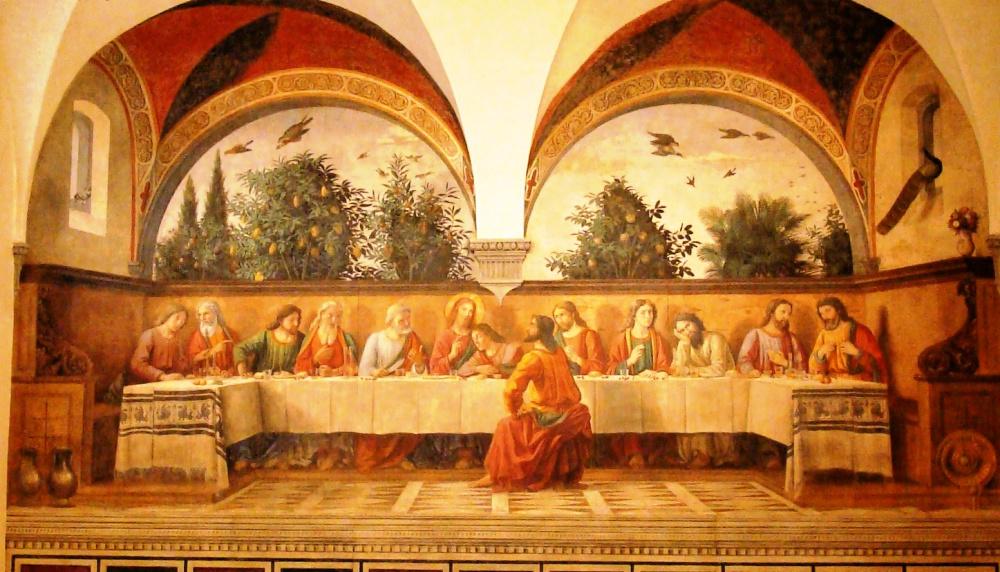 Domenico Ghirlandaio, The Last Supper in refectory Ognissanti