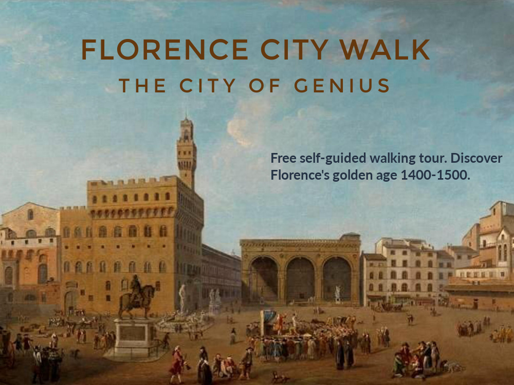 Florence City Walk, free self-guided walking tour in Firenze,