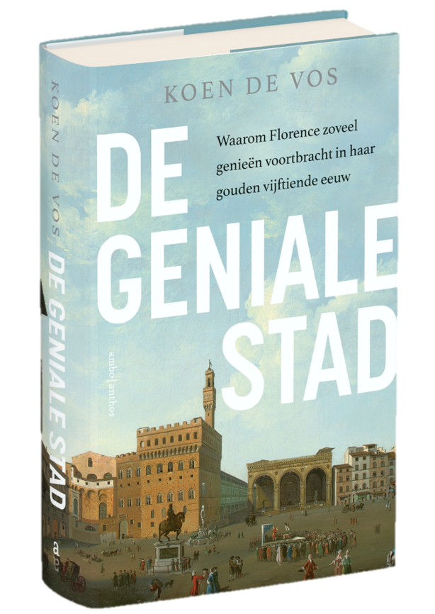 Koen De Vos, book about Florence: The City of Genius