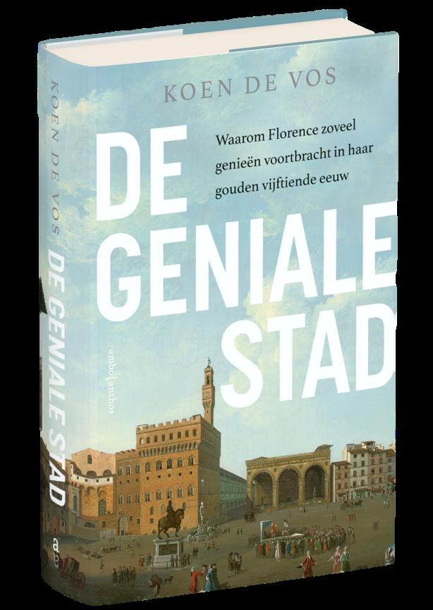 Koen De Vos, book about Florence: The City of Genius