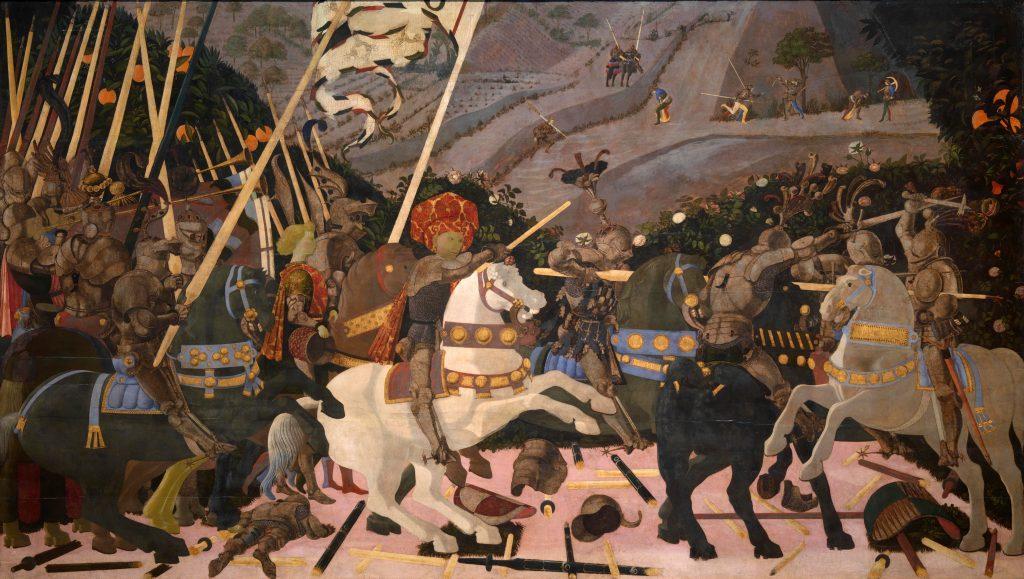 Paolo Uccello Slag om Romano
