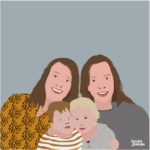 review familieportret koesterposter studio koester booster