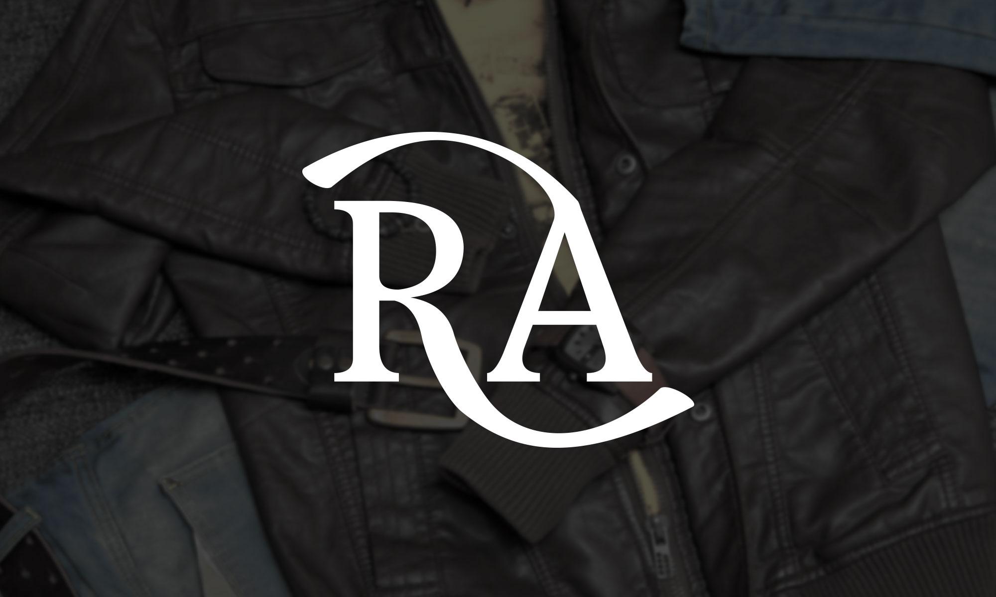 RA (Rudi Alexander) logotyp av Kogit Design