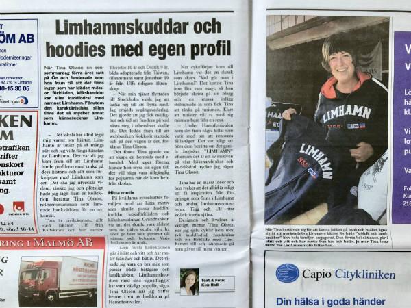Kokkolit i Limhamnstidningen , nr 4 hösten 2017.