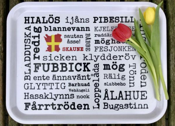 Tävling - vinn Skånebrickan, design by Kokkolit.