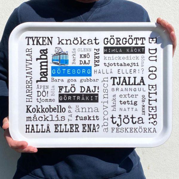 Göteborgsbricka från Kokkolit