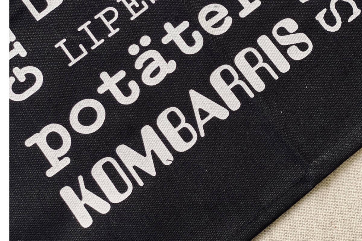 Kombarris på Kokkolits kökshanddukar på göteborgska