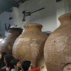 Barricas de vino en Vidigueira