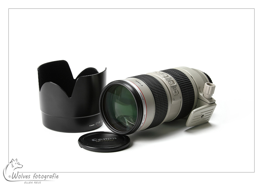 Canon objectief EF 70-200 mm F2.8 L IS USM - Productfotografie - Door: Ellen Reus - Wolves fotografie