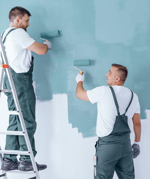Kunskap och bred erfarenhet inom måleri Komhembygg sätter kunden i centrum. För oss är det viktigaste av allt att du blir nöjd. Därför är vi mycket noggranna inte bara med våra målares kompetens utan även med material, färger, penslar och andra verktyg. För våra målare är det självklart med:  ·Högsta kvalitet på penslar, verktyg och färg ·Lång hållbarhet ·Gediget förarebete och grundning ·Noggrannhet vid arbetets utförande ·Blick för detaljer, slutresultatet ska vara av absolut högsta kvalitet ·Exakta färgnyanser enligt dina önskemål ·Komhembygg tänker på miljön och använder enbart miljömärkta och återvinningsbara produkter som är skonsamma för både omgivning och människor