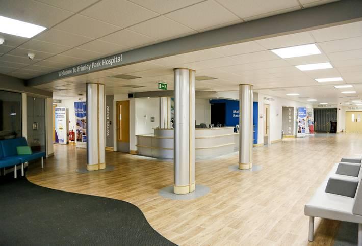 Medical interior designers for NHS hospitals