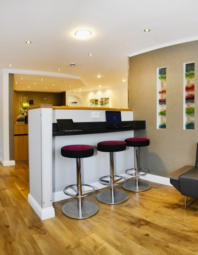 patient waiting room - dentistry interiors