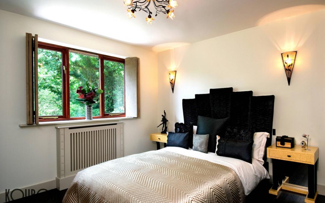 Art Deco Bedroom Redesign