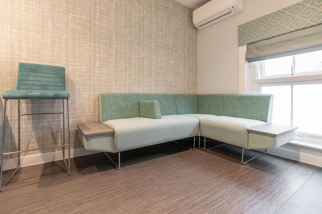 Waiting room interiors