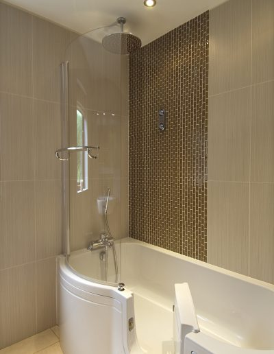 bathrooms suitable for older clients