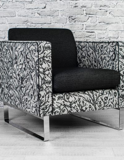armchair designed by Koubou Interiors