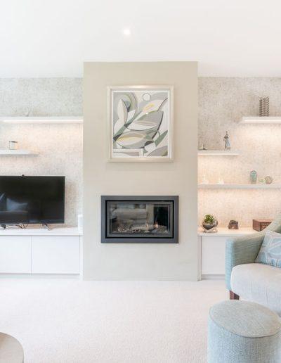 Living room redesign in Sandhurst - Koubou Interiors