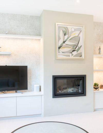 Interior design - redesign of a living room in Berkshire