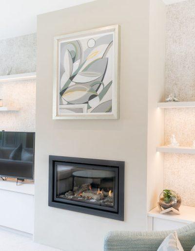 Neutral living room design - Koubou Interiors