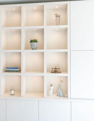 Bespoke shelves - Koubou Interiors