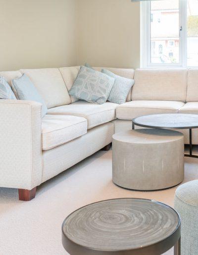 Corner sofa for living room
