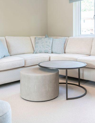 Bespoke corner sofa in Berkshire living room